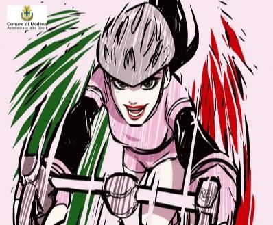 rock no war,ciclismo,giro d'italia femminile,maglie,asta,terremoto,tappa modena-salsomaggiore