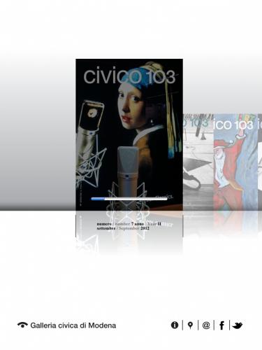 galleria civica,app,ipad,palazzo santa margherita,civico