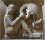 Duomo Museo Lapidario_Metope-L'adolescente e il drago (Maestro delle Metope).jpg